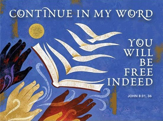 Abide in the Word and in his Words