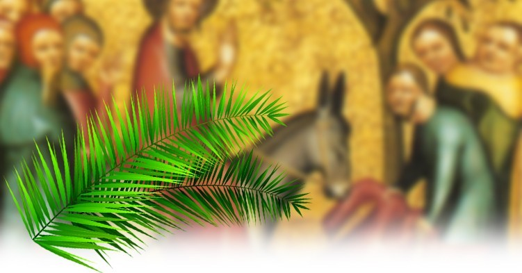 Palm Sunday Picture with donkey